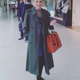 Samantha Davies, Fashion Student, Chester sharing her street style tips with a statement coat.jpg thumbnail